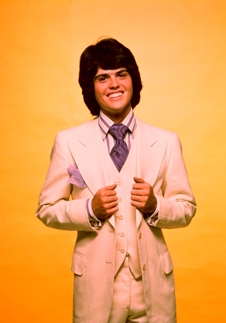 Donny Osmond was a teen idol of the '70s. (Photo: Everett Collection)