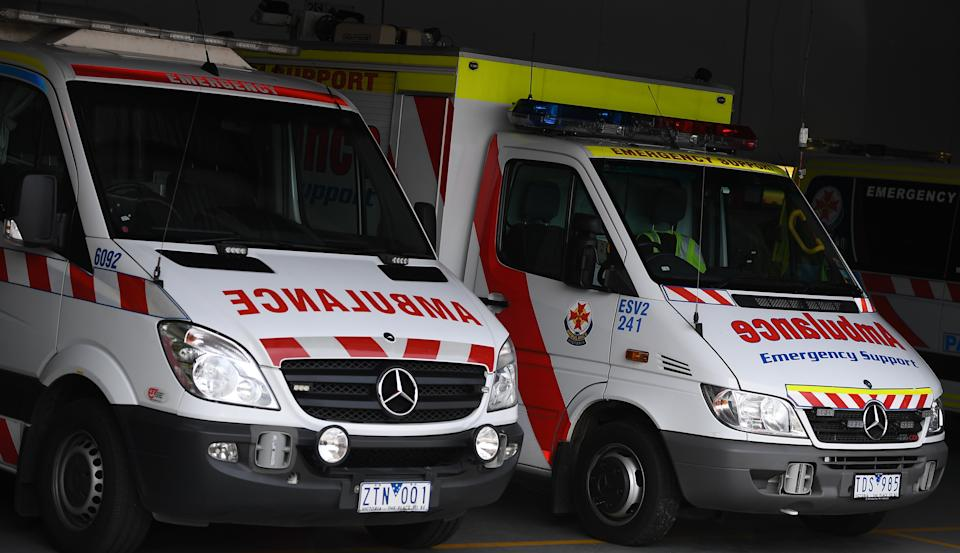 Casper's ability to explain what was happening made it easier for Ambulance Victoria to coordinate help. Source: AAP