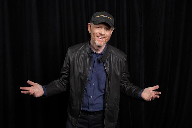 "In this May 12, 2018 photo director Ron Howard poses for a portrait to promote his film, ""Solo: A Star Wars Story"" in Pasadena, Calif. The film opens nationwide on May 25. (Photo by Willy Sanjuan/Invision/AP)"