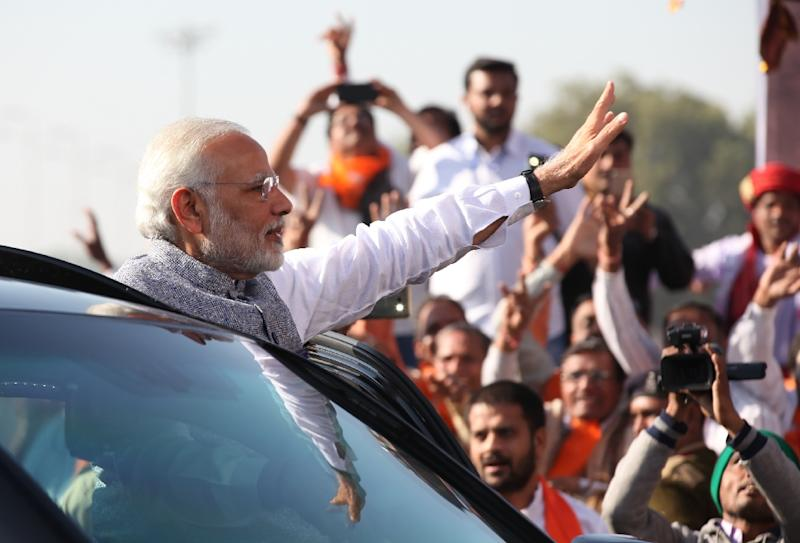 Indian premier Narendra Modi has been keen buy weapons from local manufacturers
