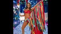 "<p>Tyra Banks had already started hosting ""America's Next Top Model"" by the time she hung up her Angel wings in 2005. The supermodel has walked in a total of nine Victoria's Secret Fashion Shows, and wore the Fantasy Bra in 1997 and 2004. Banks — known for her <a href=""https://www.gobankingrates.com/net-worth/celebrities-living-modest-life/16/?utm_campaign=489384&utm_source=yahoo.com&utm_content=29"" rel=""nofollow noopener"" target=""_blank"" data-ylk=""slk:frugal lifestyle despite her top-model title"" class=""link rapid-noclick-resp"">frugal lifestyle despite her top-model title</a> — will return as the host of ""America's Next Top Model"" for the upcoming season after a two-season break. She is also the founder of the ""beautytainment"" brand Tyra Beauty, and will executive produce and star in the upcoming movie ""Life-Size 2.""</p>"