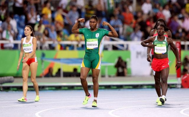 Caster Semenya won the women's 800m Olympic title for a second time in Rio