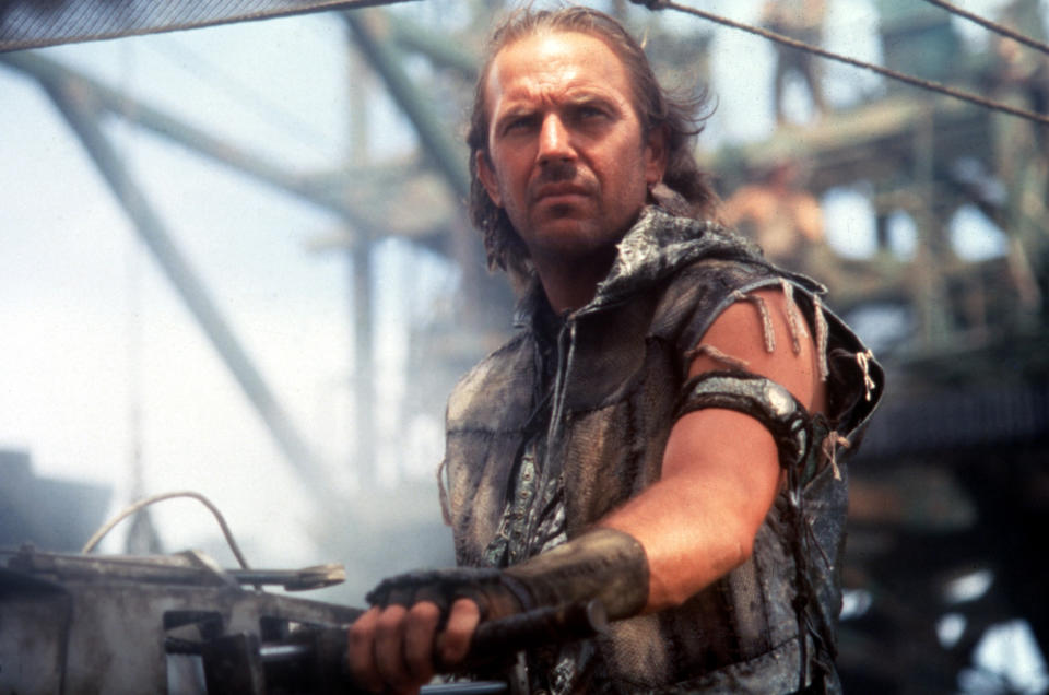 "Kevin Costner in ""Waterworld"". (Bild: ddp)"