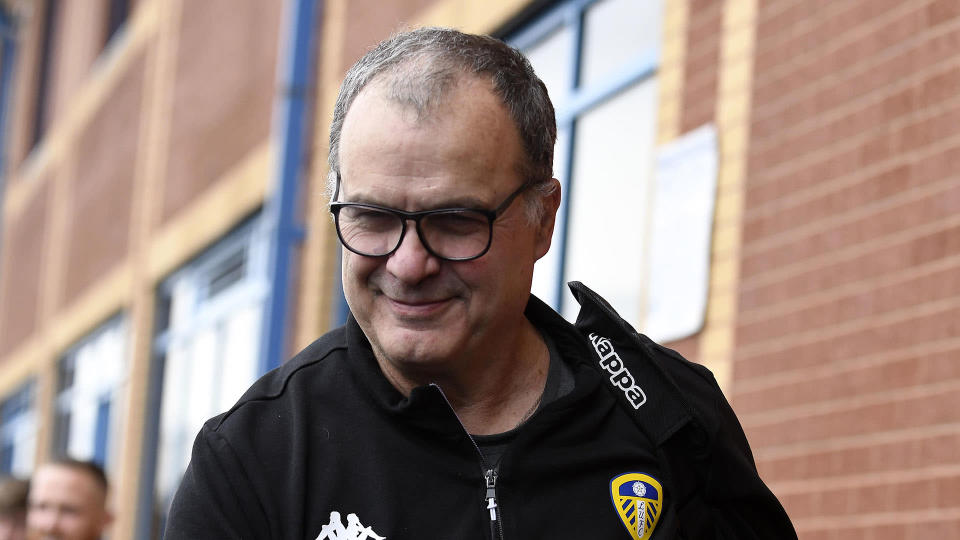 "Marcelo Bielsa further cemented his nickname ""El Loco"" by admitting to spying on opponents. (Goal.com)"