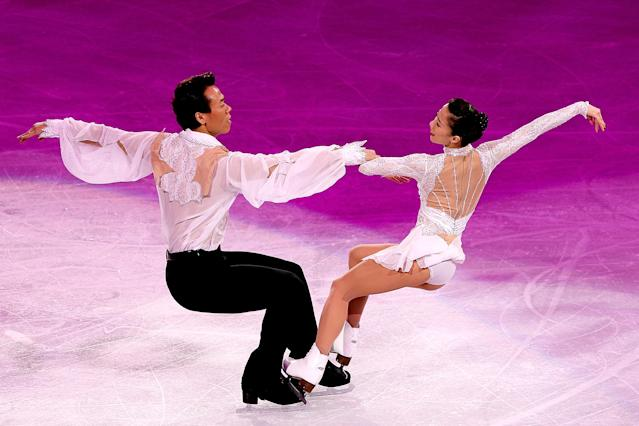<p>The Chinese pair already had a pair of Olympic bronze medals when they walked away from ice skating in 2007. But they returned in 2009, unranked and two years removed from competition to go after the elusive Olympic Gold medal. Hongbo and Xue's combined score set a world record as they became the first Chinese skaters to win a gold medal, ending Russia's 46-year twelve-Olympic gold medal streak. </p>