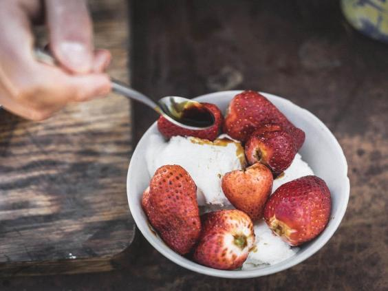 Fruit can be barbecued too – no matter what anyone else says (Riverford)