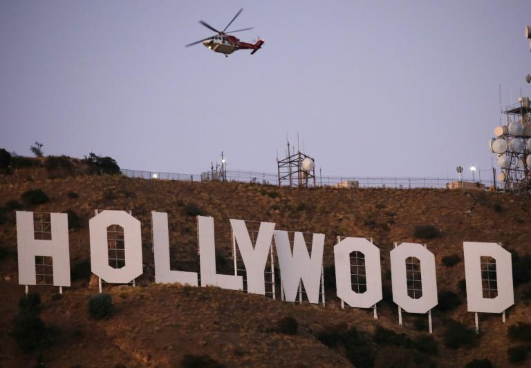 Hollywood is sceptical about a quick return to normal despite US President Donald Trump saying he wanted American cinemas to reopen as soon as possible (AFP Photo/MARIO TAMA)