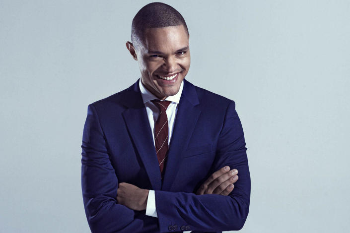 Apparently there's at least one <em>Daily Show</em> contributor who wants to stick around. Newbie correspondent Trevor Noah is currently the front-runner to take over hosting when Jon Stewart departs, according to <em>Variety. </em> 9 things to know about new <em>Daily Show</em>host Trevor Noah Noah, who only joined the Comed ... Read More > <strong>Other Links From TVGuide.com</strong> Jon Stewart The Daily Show With Jon Stewart Trevor Noah