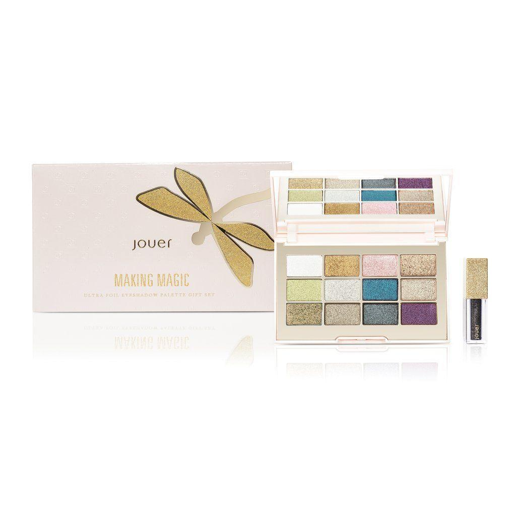 "<p>This limited-edition palette is chock full of eye-brightening shades, but what we really love is the included eye topper, which adds a wet finish to shadows.</p> <br> <br> <strong>Jouer</strong> Making Magic Ultra Foil Eyeshadow Palette Set, $36, available at <a href=""https://www.sephora.com/product/ultra-foil-eyeshadow-palette-gift-set-P437712"" rel=""nofollow noopener"" target=""_blank"" data-ylk=""slk:Sephora"" class=""link rapid-noclick-resp"">Sephora</a>"