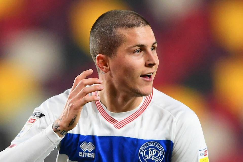 <p>Lyndon Dykes is in his first season at QPR, having joined from Livingston in a £2m deal in August</p> (Getty Images)