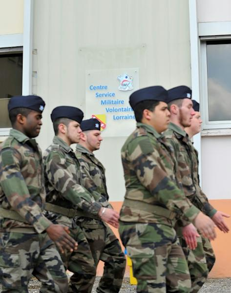 Centrist Emmanuel Macron wants to make all 18-to-21-year-olds do an obligatory month of military service