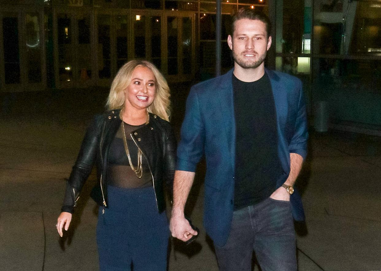 Hayden Panettiere and Brian Hickerson, here in 2019, reunite after a turbulent history.