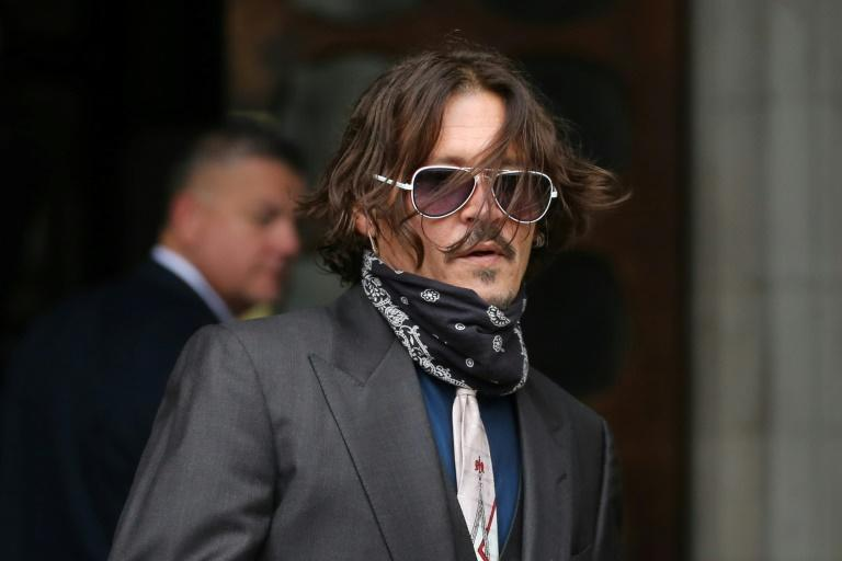 Depp was questioned on his drink and drug consumption, but denied he had a 'nasty side' when under the influence
