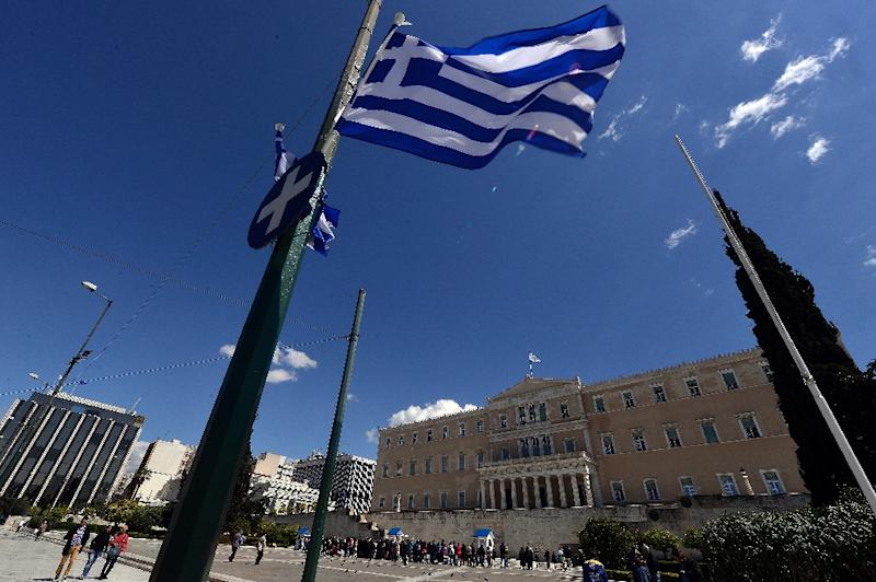 """Talks between Greece and its creditors need to """"speed up"""", the EU's Economic and Financial Affairs Commissioner says (AFP Photo/Louisa Gouliamaki)"""