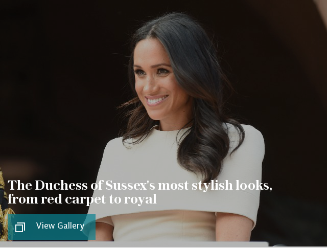 The Duchess of Sussex's most stylish looks