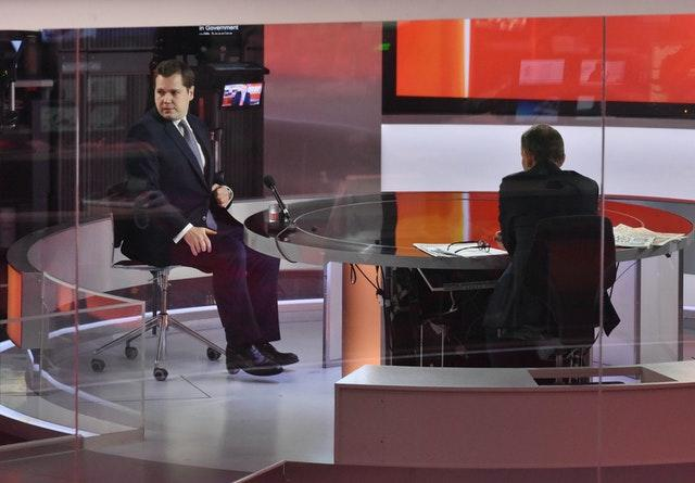 Robert Jenrick on The Andrew Marr Show