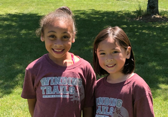 IMage: Campers at Winding Trails Summer Day Camp in 2019. For this summer, Winding Trails has about 500 campers on its waitlist. (Courtesy of Winding Trails Summery Day Camp)