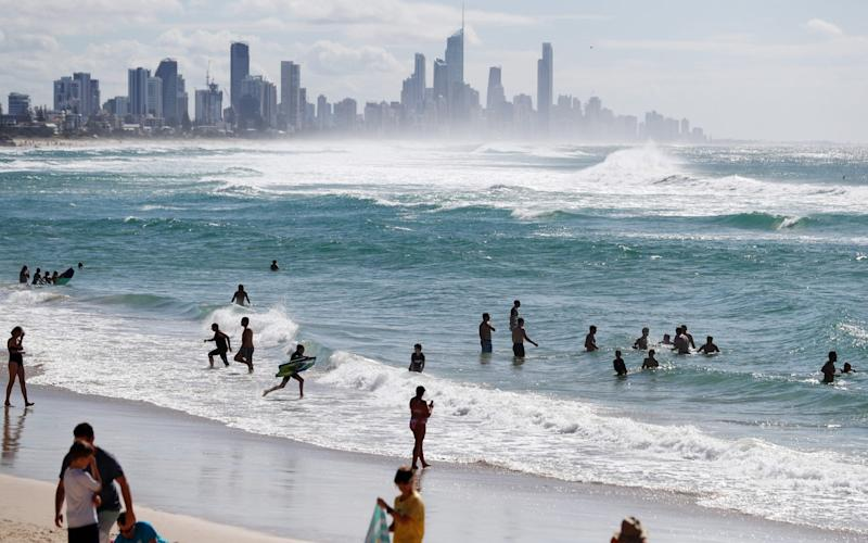 A man died after a shark attack south of the Gold Coast - Getty