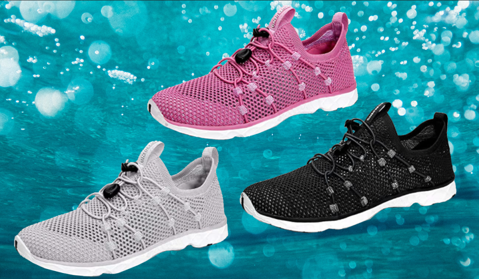 Walk on water with Moerdeng Women's Quick-Drying Water Shoes, now just $27 on Amazon.
