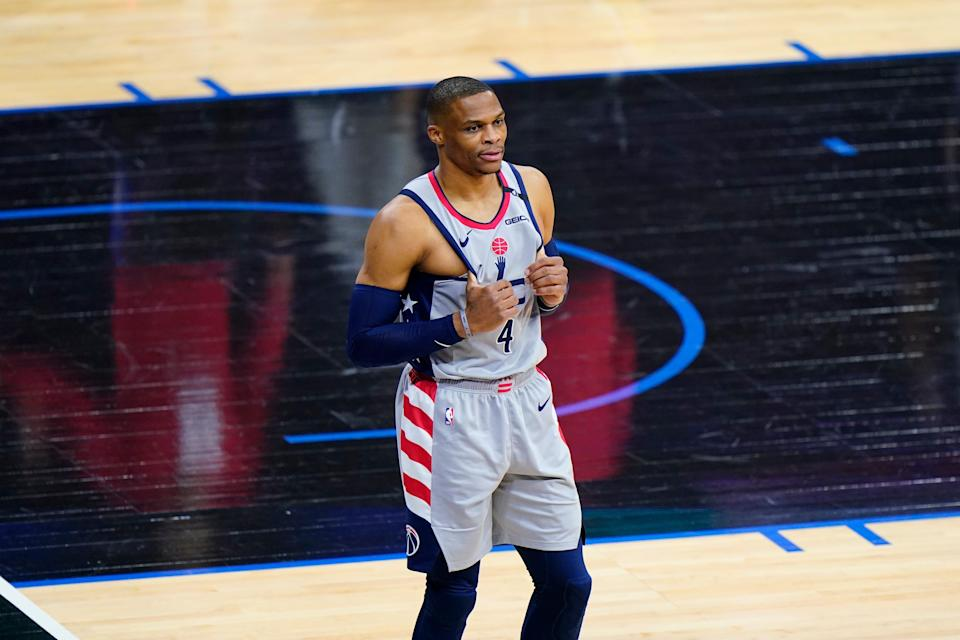 The fan that threw popcorn at Russell Westbrook at the end of Wednesday's playoff will be banned from all events at Wells Fargo arena.