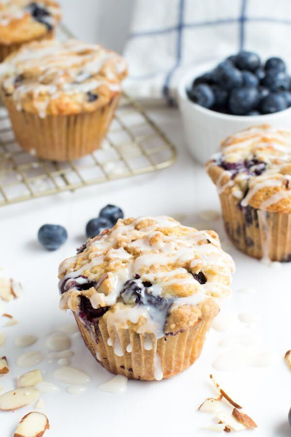"<p>The sugar glaze is TDF.</p><p>Get the recipe from <a href=""http://www.spoonfulofflavor.com/2015/09/04/blueberry-almond-coffee-cake-muffins/"" rel=""nofollow noopener"" target=""_blank"" data-ylk=""slk:Spoonful of Flavor"" class=""link rapid-noclick-resp"">Spoonful of Flavor</a>.</p>"