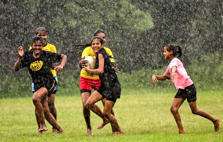 Kolkata has long been the hub of rugby in India. (AFP Photo/Amit DATTA)