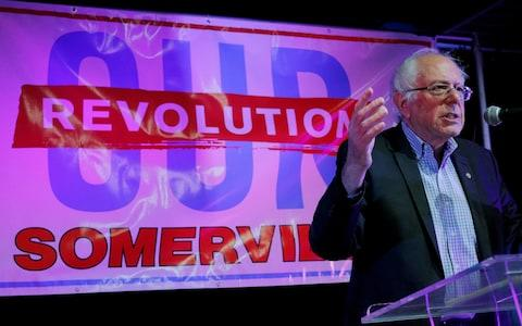 Bernie Sanders has been re-elected for another six-year term in the US Senate - Credit: Reuters