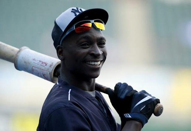 Didi Gregorius is campaigning for the All-Star Game in the final days. (AP Photo)