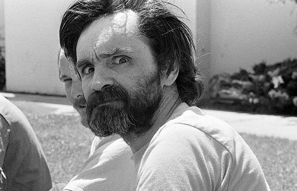 <p>American criminal Charles Manson, the man who murdered Sharon Tate, at California Medical Facility, Vacaville, Solano County, California, US, August 1980.</p><br/>