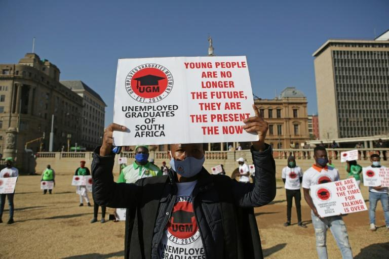 Young people have borne the brunt of the jobless crisis in South Africa