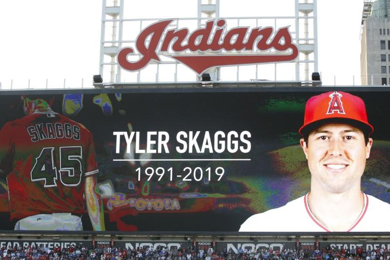 Ex-Angels employee indicted in Skaggs' death