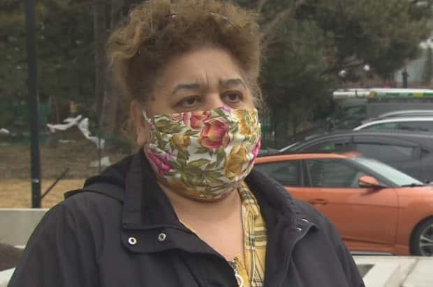 May Aboayda, one resident, says: 'It's very frustrating. I'm going to move from this building. It's too much.'