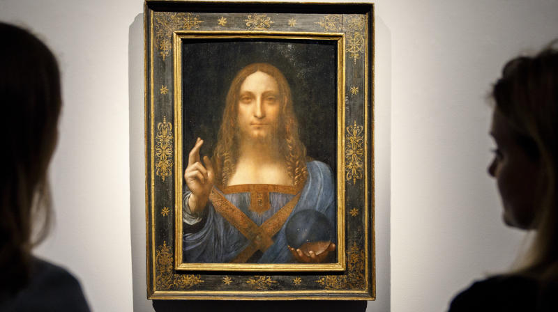 'Lost' Leonardo Da Vinci Sells For Record $450 Million At Auction