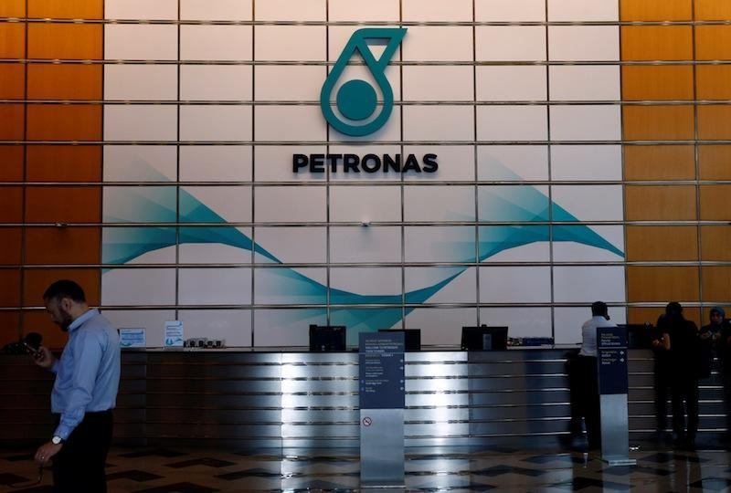 A Petronas logo at their office in Kuala Lumpur, Malaysia August 15, 2017. — Reuters pic