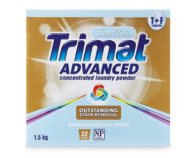 Aldi's Trimat Advanced Concentrate Laundry Powder costs $5.8- for 3kg as is the bets on the market. Photo: Aldi