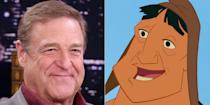 <p>The patriarch of<em> Roseanne</em> appeared in two Disney movies in back-to-back years. First, in 2010, he voiced the kind llama herder Pacha in <em>The Emeperor's New Groove</em>. He followed that up by playing the top scarer in <em>Monsters, Inc.</em> He reprised the latter role in <em>Monsters University</em> twelve years later.</p>