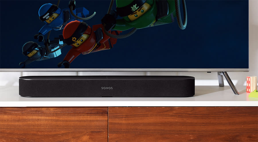 The Sonos Beam is only 25 inches long.