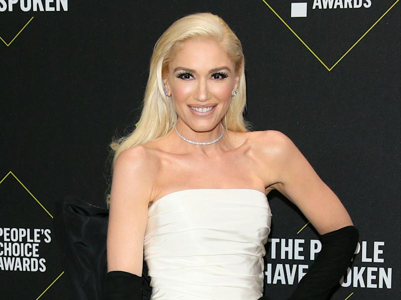 Gwen Stefani replaces ex Gavin Rossdale with Blake Shelton in throwback photo (AFP via Getty Images)