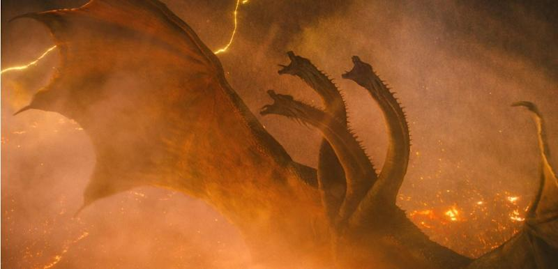Godzilla: King of the Monsters heavy King Ghidorah is a very human dragon