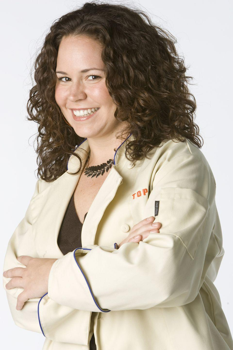 <p>Stephanie Izard opened her first restaurant Scylla at the age of 27. After closing it down in 2007, she appeared on season four of <em>Top Chef</em> where she claimed the title of being the first woman to win the cooking show. </p>