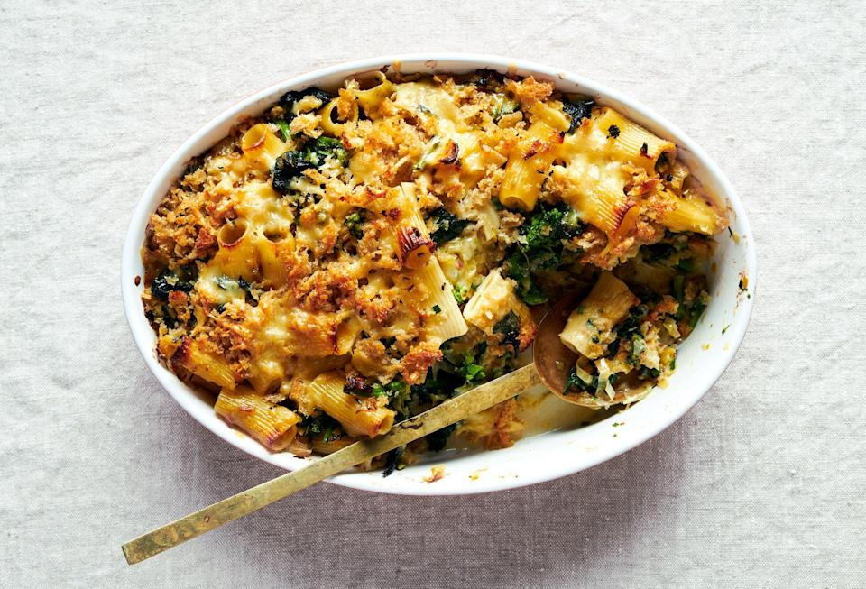 "<a href=""https://www.bonappetit.com/recipe/spicy-baked-pasta-with-cheddar-and-broccoli-rabe?mbid=synd_yahoo_rss"" rel=""nofollow noopener"" target=""_blank"" data-ylk=""slk:See recipe."" class=""link rapid-noclick-resp"">See recipe.</a>"