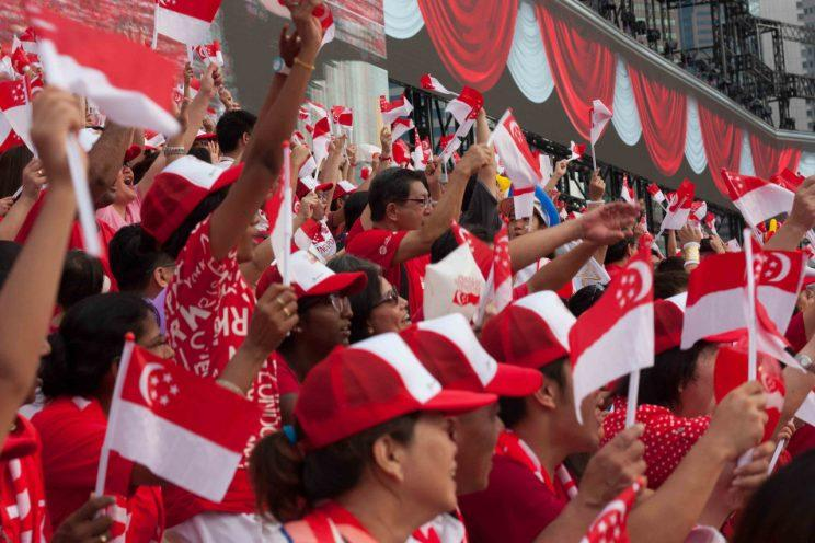 Singaporeans and Permanent Residents hoping to catch this year's National Day Parade can apply for tickets from 23 May to 4 June via SMS, the NDP website or SAM and AXS stations islandwide. (Photo: Yahoo Singapore)