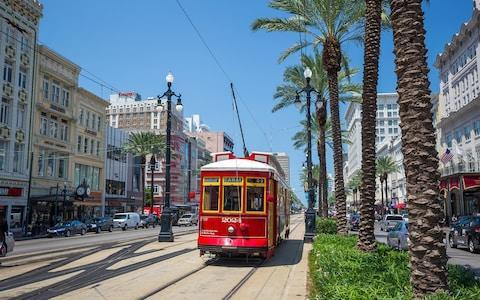 A streetcar in New Orleans - Credit: iStock