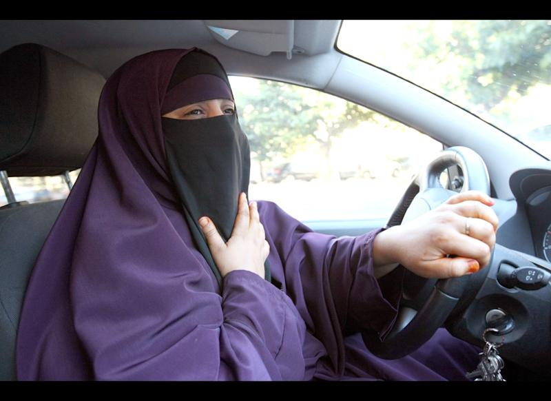 Often mistaken for a burqa, the niqab fully covers the body, but only partially covers the face, leaving a narrow opening for the eyes. Driving while veiled: now a misdemeanor in France.