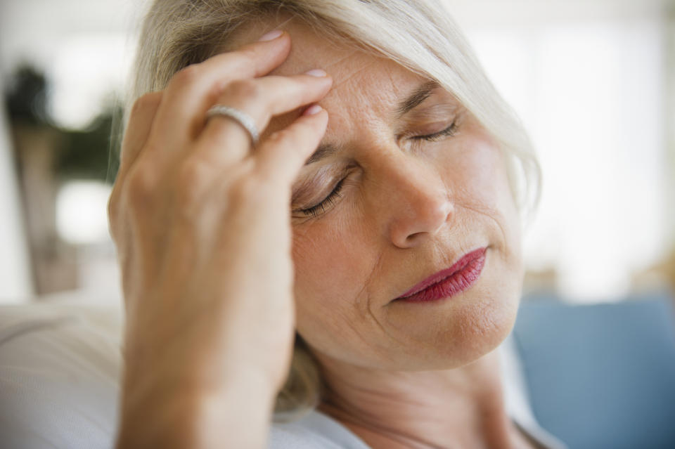Cognitive decline often occurs with age, leaving people less able to remember recent events. (Posed by a model, Getty Images)