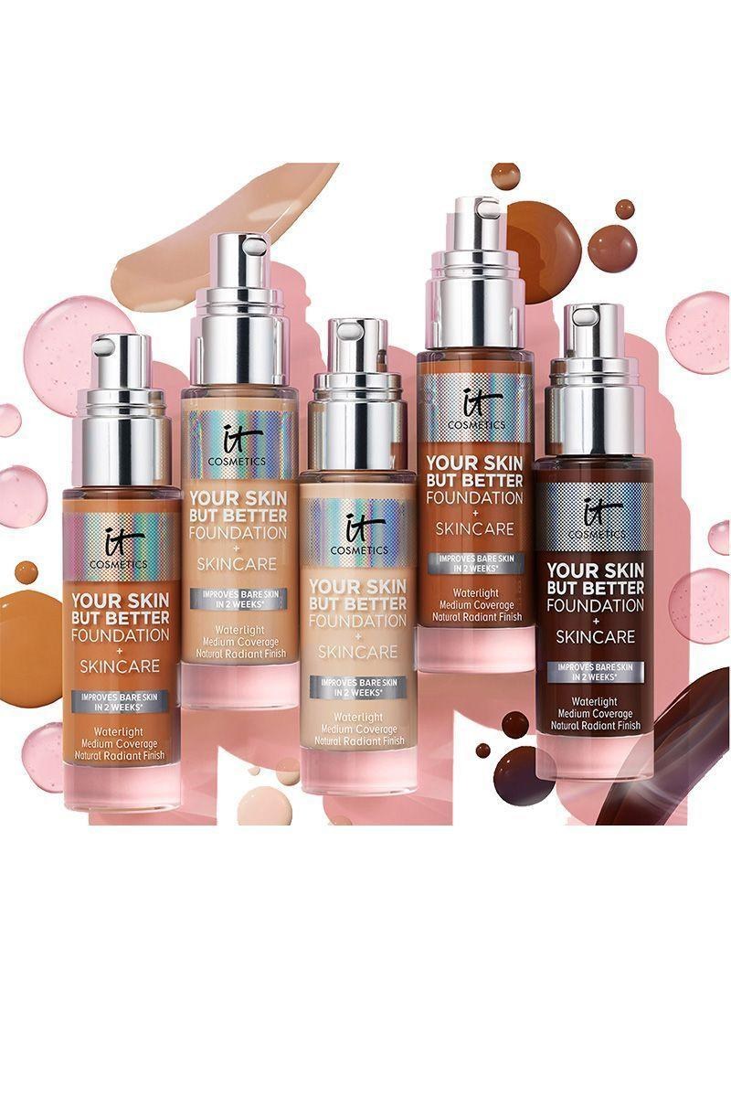 "<p><strong>Your Skin But Better Foundation</strong></p><p>itcosmetics.com</p><p><strong>$25.00</strong></p><p><a href=""https://go.redirectingat.com?id=74968X1596630&url=https%3A%2F%2Fwww.itcosmetics.com%2Flearn-all-about-the-best-hydrating-foundation.html&sref=https%3A%2F%2Fwww.elle.com%2Fbeauty%2Fg34671473%2Fblack-friday-cyber-monday-beauty-deals-2020%2F"" rel=""nofollow noopener"" target=""_blank"" data-ylk=""slk:Shop Now"" class=""link rapid-noclick-resp"">Shop Now</a></p><p>Try the recently launched (and this editor's favorite) Your Skin But Better Foundation and stock up on CC+ Cream, all at 25% off.</p>"