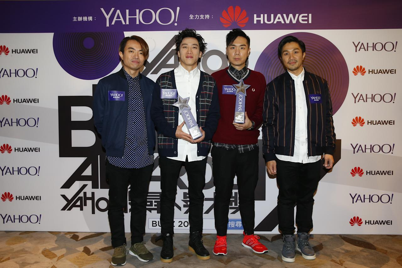 <p>Supper Moment wins Top Buzz Lcoal Group and Top Buzz Original Song at the Yahoo Asia Buzz Awards 2017 in Hong Kong on Wednesday (6 December).</p>