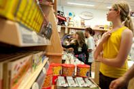 <p>The inside of the original Walton's 5&10 still honors a vintage aesthetic, offering retro toys, souvenirs, and candies.</p><p>Photo: Courtesy of Walmart</p>