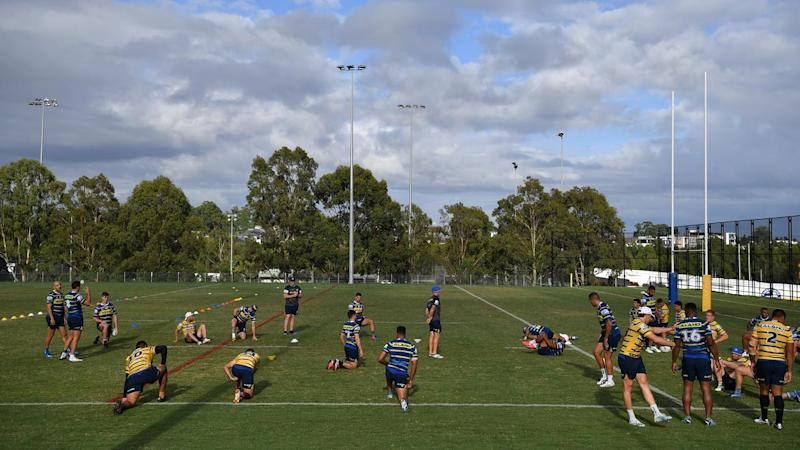 NRL players are waiting to learn the scope of a self-isolation plan to guard against coronavirus