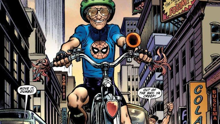 One of Stan Lee's many cameos in Marvel Comics (Image: Lee Weeks/Marvel Entertainment)